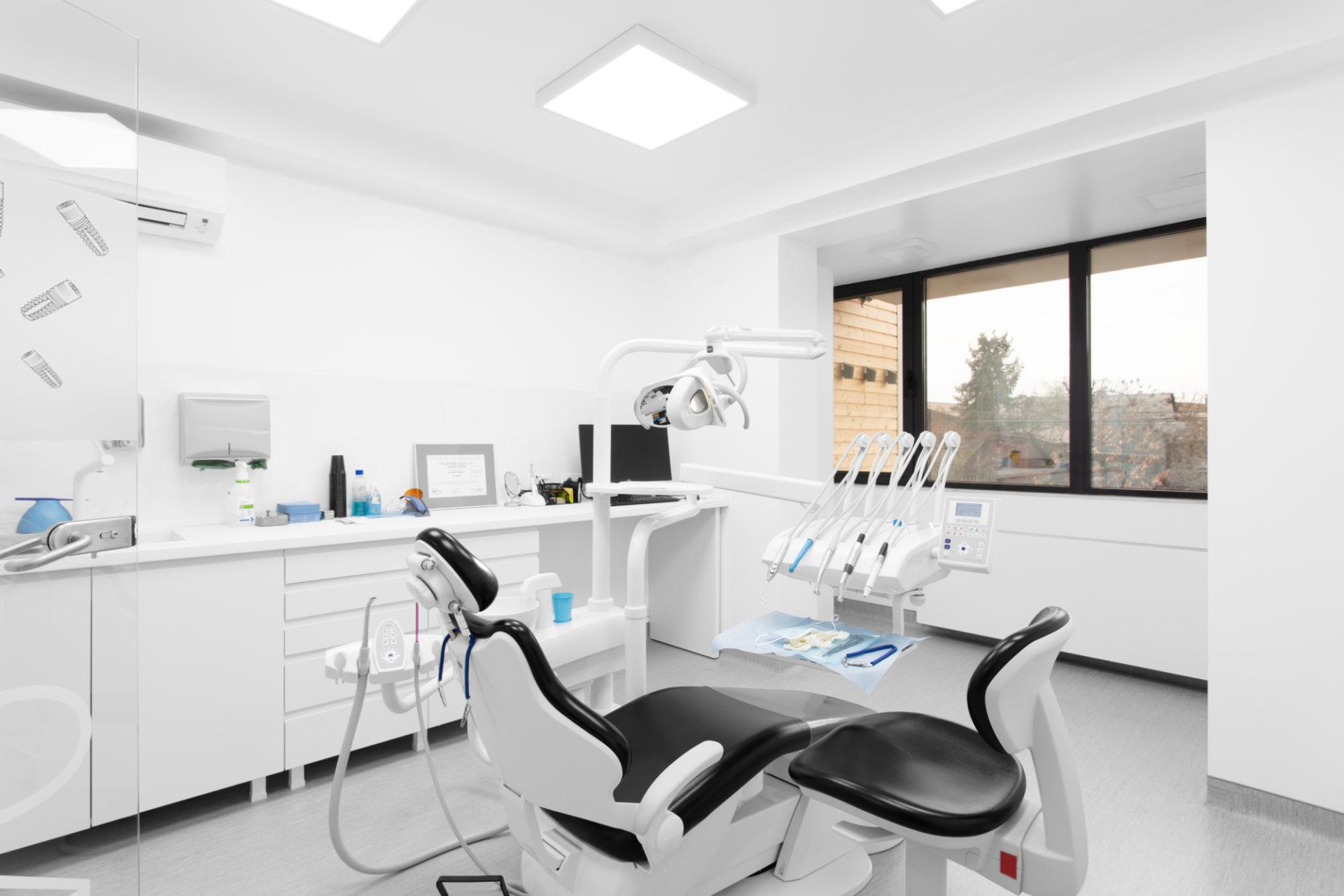dental clinic interior photoshoot